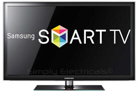 samsung ue40d5520 led smart . good condition . free view