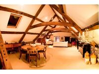 Beautiful attic apartment - ideal for the travelling professional who wishes to avoid hotels.
