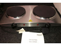 2 ring counter top cooker