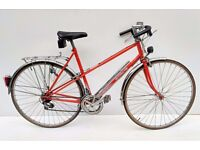 vintage ladies Motobecane mixte town bicycle