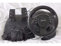 Microft Steering Wheel