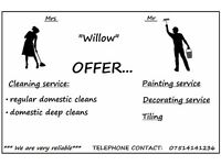 Tiling / Bathroom fitters / painting / decorating / etc.