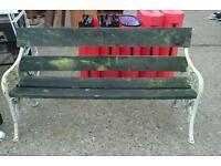 Victoria style bench