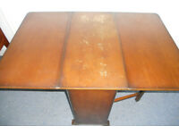 Drop Leaf Dining Table - Ideal To Paint