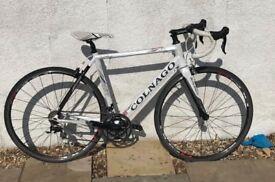 2012 Colnago Air, carbon/aluminium hybrid road bike, 105 group set, shimano R500 wheel set