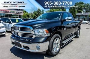 "2017 Ram 1500 BIG HORN QUAD CAB 4X4, BLUETOOTH, 20"" ALUM WHEELS,"