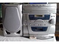 ALBA 3 Disc CD Mini System with Two Speakers