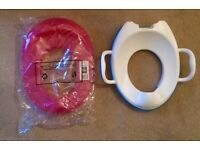 Two Children's toilet training seats