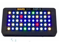 mars aqua 165w full spectrum marine l.e.d. lighting