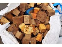 WOODEN BLOCKS FOR SALE 1.5 TONNE BAG