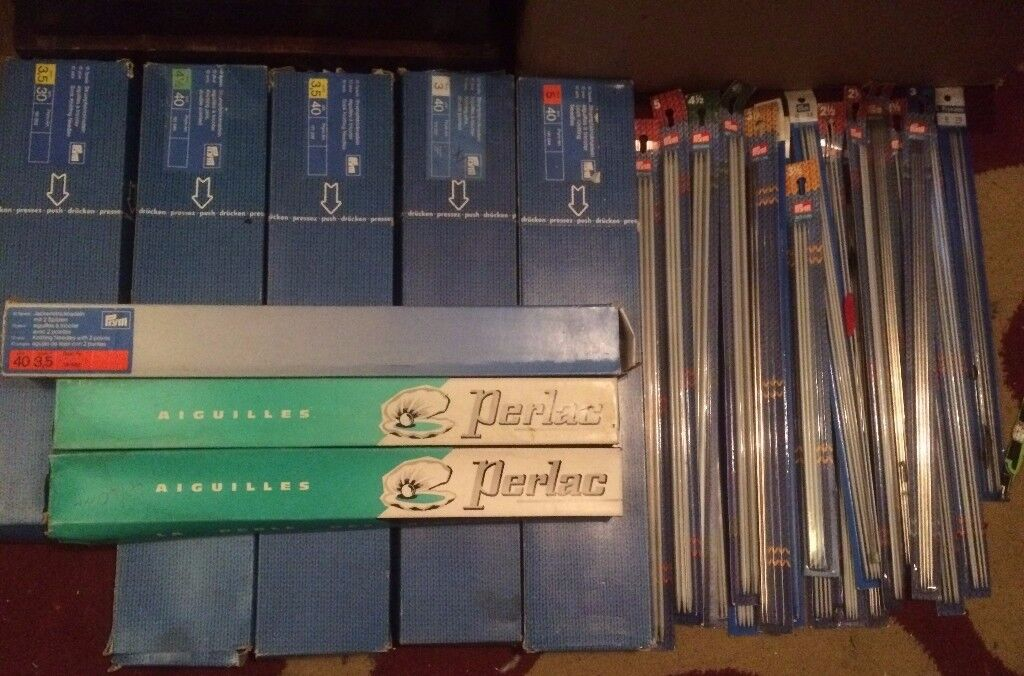 large quantity of needles