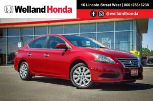 2013 Nissan Sentra 1.8 SV | ACCIDENT FREE | ONE OWNER