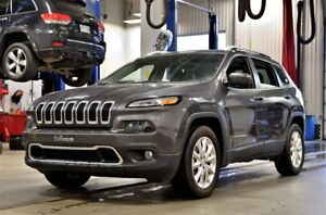 2017 Jeep Cherokee LIMITED * V6 * 4X4 * TOIT PANO * CUIR * LUXE
