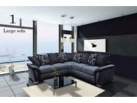 QUALITY SOFAS FROM £450**FAST FREE DELIVERY**CORNER SOFA/SOFA SET/VELVET/FAUX LEATHER/JUMBO CORD