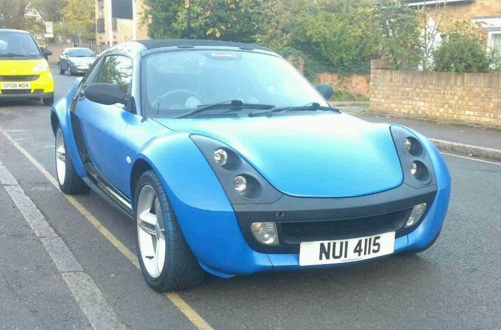 classic mercedes smart roadster brabus 0 6 auto sports. Black Bedroom Furniture Sets. Home Design Ideas