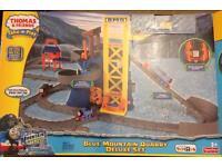 Thomas The Tank Blue Mountain Quarry Deluxe Train Set