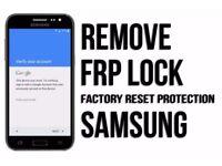 Android/Samsung FRP Unlocking service
