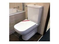 Villeroy & Boch Joyce Close Coupled WC Toilet with Seat **EX DISPLAY**