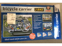 Universal 2 Bike Carrier (for most car types)