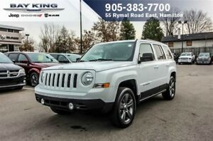 2015 Jeep Patriot HIGH ALTITUDE 4X4, HTD LEATHER, SUNROOF, A/C