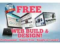 FREE Web Design & Build - Freelancer Looking to Build Website Portfolio