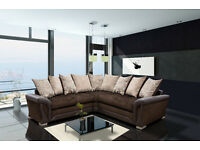 50% REDUCTION ON THESE GENUINE CHENILLE FABRIC SOFAS**L/R HAND SOFAS**CORNER SOFAS**SWIVEL CHAIRS*
