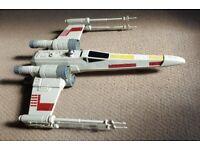 Star Wars X-Wing Fighter Ship - Hasbro Model C2604 (Large!)