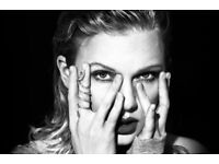 2 x Taylor Swift tickets Pitch seated Manchester 8th June 2018