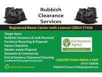 (Rubbish Clearance Services) Removals Waste collection