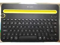 Keyboard, Logitech Bluetooth k480 Multi device