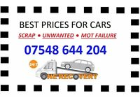 FREE RECOVERY OF SCRAP VEHICLES, WE BUY ANY CAR