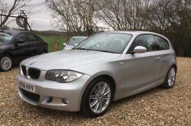 BMW 1 Series 2.0 118d M Sport 3dr, Brand new clutch! Full service history