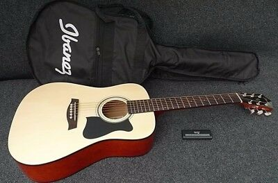 Ibanez IJV30 3/4 SIZE MINI DREADNOUGHT PACKAGE with GIG BAG & ELECTRONIC TUNER