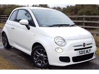 LOW MILES. .FIAT 500 S...LOW MONTHLY COST PCP OR HP AVAILABLE