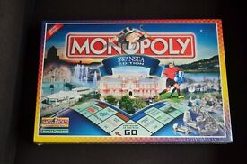 Monopoly Swansea edition unused.