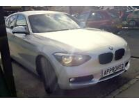 BMW 1 SERIES 2.0 120D SE 5d AUTO 181 BHP Apply for finance Online today! (silver) 2014