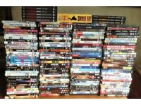 Over 120 DVD,s some box sets ideal for a dealer or even a carboot sale.
