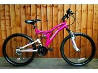 """Muddyfox Phoenix mountain bike,24""""wheels,24 speed"""