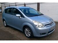 2004 Toyota Corolla Verso 1.8 VVT-i T Spirit 5dr 7 SEATER HISTORY PX TO SELL