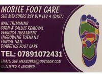 Mobile Foot Care - Sue Measures - BSY DIP LEV 4 (DIST)