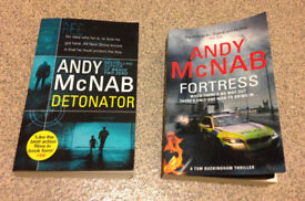 Andy Mcnab books - Detonator and Fortress
