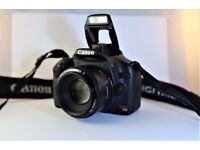 Canon Rebel T1i / 500D Lens and accessories Very good condition!