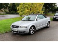 Audi A4 convertible very clean low mileage