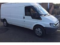 Ford transit lwb t350 low miles 65k