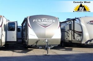 2017 Cruiser RV Fun Finder 23BH NICE LIGHTWEIGHT TRAVEL TRAILER