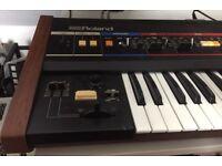 Roland Juno 60 with midi Minerva installed