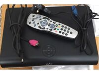 QUICK SALE PRICE -SKY HD + Box in as new condition
