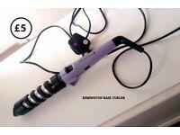 Remington hair curler adjustable 3 temperatures