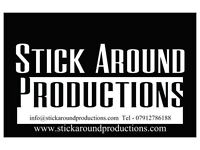 Stick Around Productions are here for all your video needs