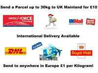 Same Day/Next Day Parcel Delivery Service to UK, Europe & USA, Asia, Australia, Africa, etc